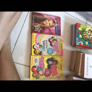 Lizzie McGuire and Hannah Montanna Books