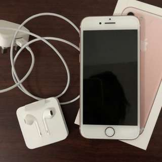IPhone 7 - 32 GB RoseGold, Used only for 8 Months