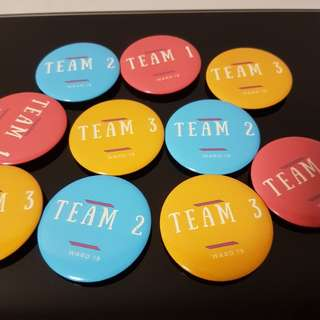 Customised Badges for Team Bonding Event Function