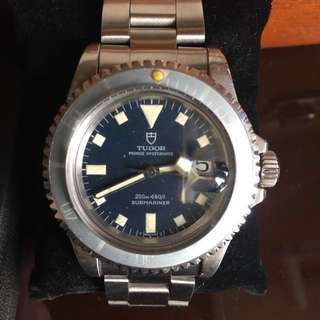 Project Tudor 9411 submariner with serial number