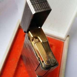 法國銀殼打火機連原裝盒