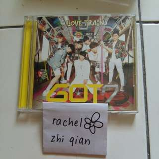 [READY STOCK] GOT7 Love Train Japanese Limited Edition A ver Album