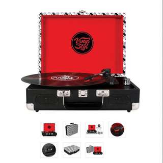 Brand New Vinyl Styl Groove Portable Turntable