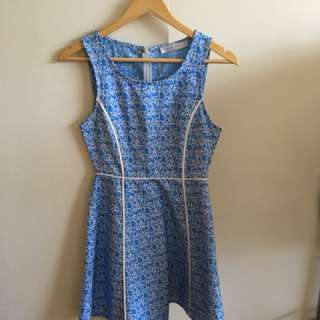 Blue quirky circus dress