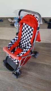sweet heart paris baby stroller