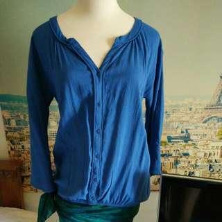 Promod blue shirt