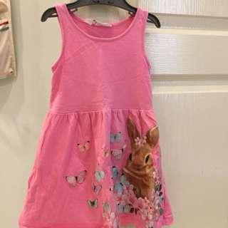 Preloved H&M pink dress