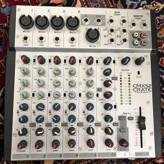 Crate CMX 52 Mini Mixer