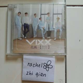 [READY STOCK] VIXX Hana Kaze Japanese Regular ver Album