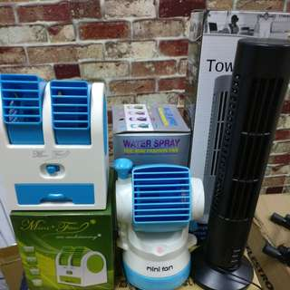 Warehouse Clearance USB Cooling Tower Fan Christmas Gift