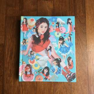 [QYOP] Sealed Red Velvet Rookie Album (Korea Press) [Irene Cover]