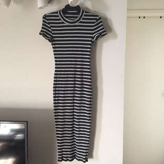 Bardōt Long Stripy Dress