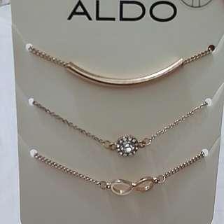 3PCS Aldo Bracelets (On Sale)
