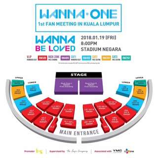 WTB Wanna One Fanmeeting Ticket