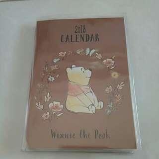 [Brand New] Winnie the Pooh 2018 Planner