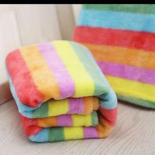 寵物彩虹毛毯