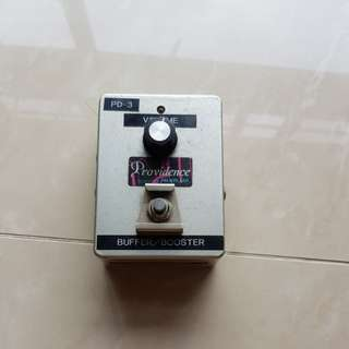 Pacifix Providence Japan Buffer/Booster PD-3 discontinued