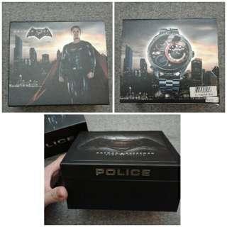 Police Men's Limited Edition Batman vs Superman watch