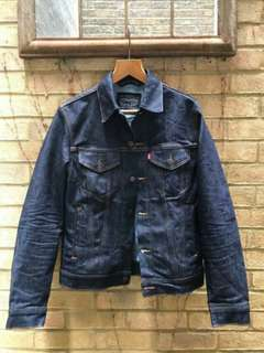 Denim Jacket men size m ori Levi's trucker