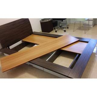 Super Single Platform Bed