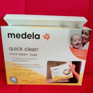 5 pieces Medela Quick Clean micro-steam bags