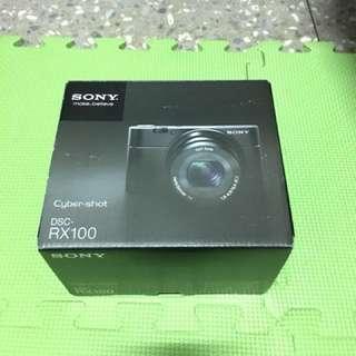 SONY RX100(第一代)數位相機