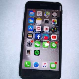 iPhone7 Plus 128GB 亮黑 9成新