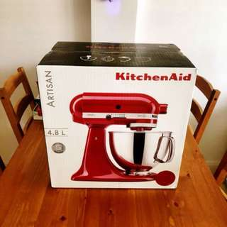 Kitchenaid artisan 4 8L brand new local set