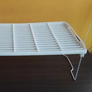 4 Multi purpose plastic shelf