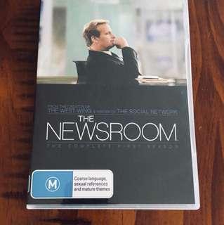 DVD/tv series: Newsroom season 1