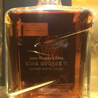 John Walker Kig George V Whisky
