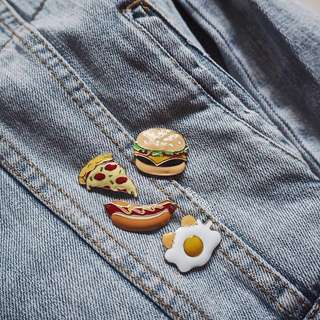 Food pin set