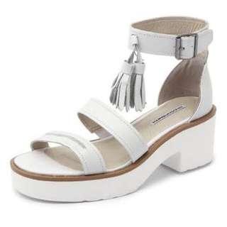 White Windsor Smith Heels