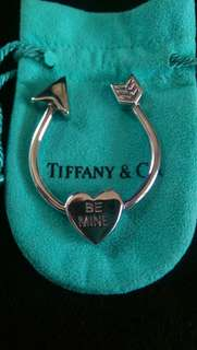 Tiffany 純銀鎖匙扣