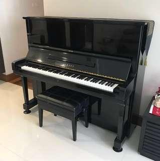 Yamaha U3 🎹 Piano with Stool