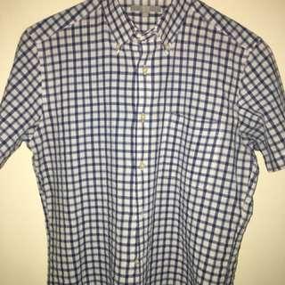 Plaid Polo short sleeves