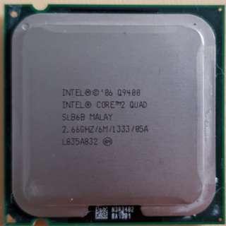 Intel Q9400 with heat sink