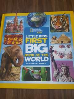 National geographic Kids First Big Book of the World