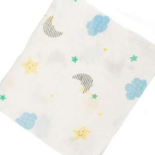 Holabebe muslin swaddle-moon and star