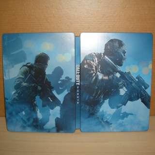 ★★★ 原装【 XBOX 360 】Call of duty Ghosts Steel Book Limited Edition steel game case 2碟版 ★★★
