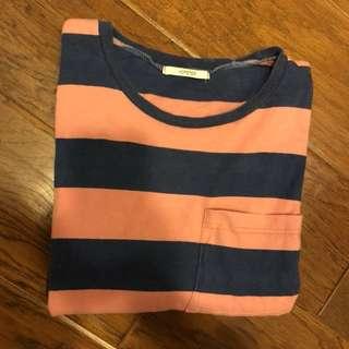 🚚 粉藍短袖