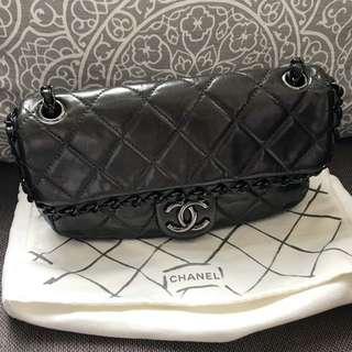 100% Real CHANEL 2.55 Seasonal Flap Bag 牛皮袋