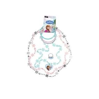 Frozen Snowflakes necklaces, bangles & rings set