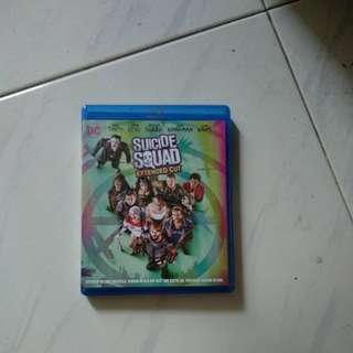 Suicide Squad - Extended Cut - 2 Blu Ray discs & DVD - US Import (original)