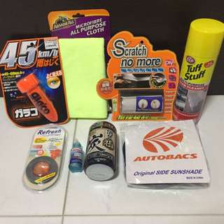 8 items Car Accessories gift set