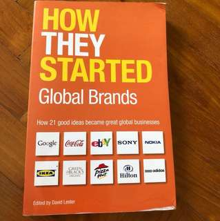 How they started - Global Brands
