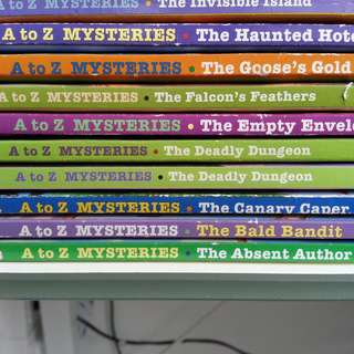 The A to Z Mysteries