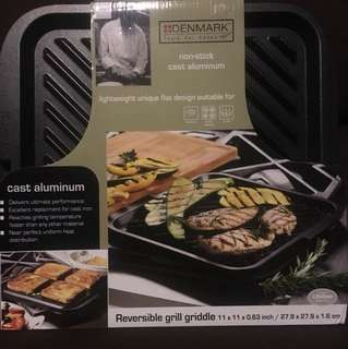 Reversible Grill Griddle Aluminum New