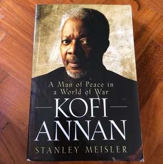 Kofi Annan, A man of peace in a world of war