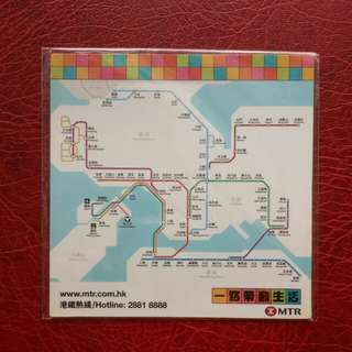 地鐵路線磁貼